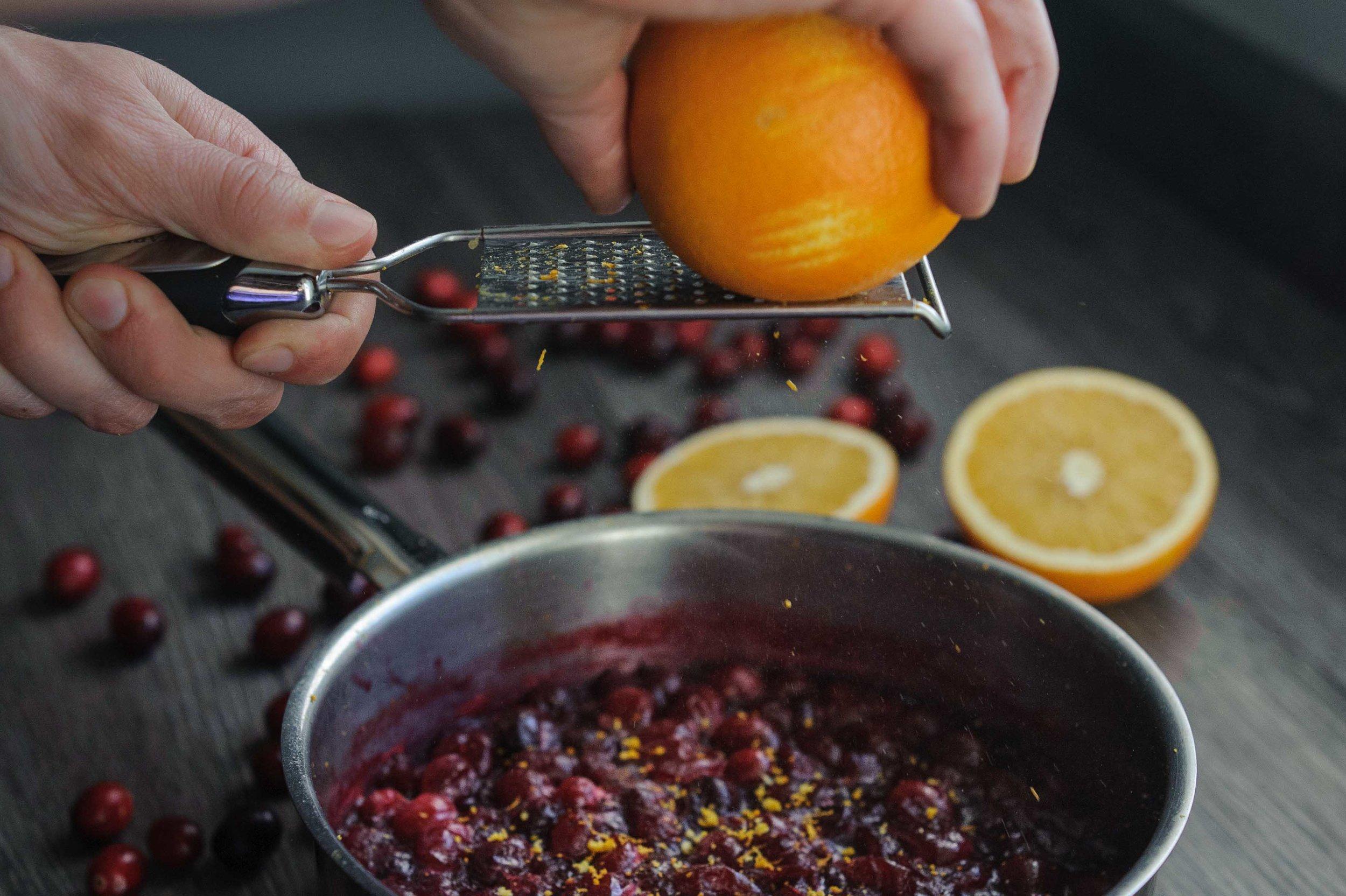 3 Ingredient Cranberry Orange Sauce
