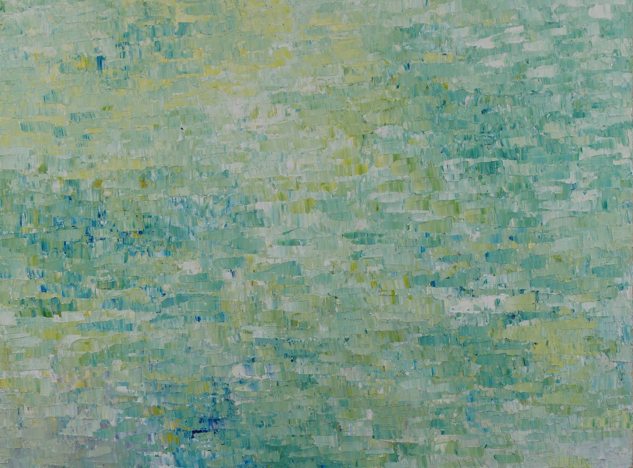 "Gioi Tran,  Dawn , 36""x 48"", acrylic on canvas, courtesy of ArtHaus"