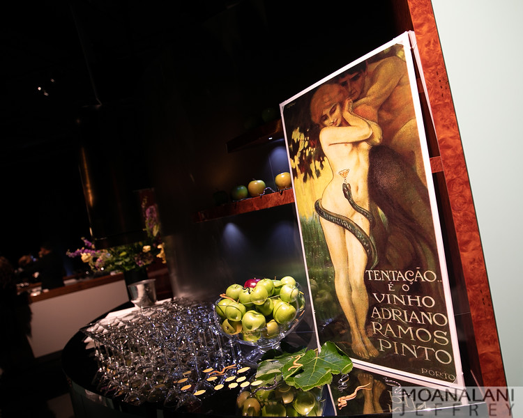 Kendal Wilkinson's bar display