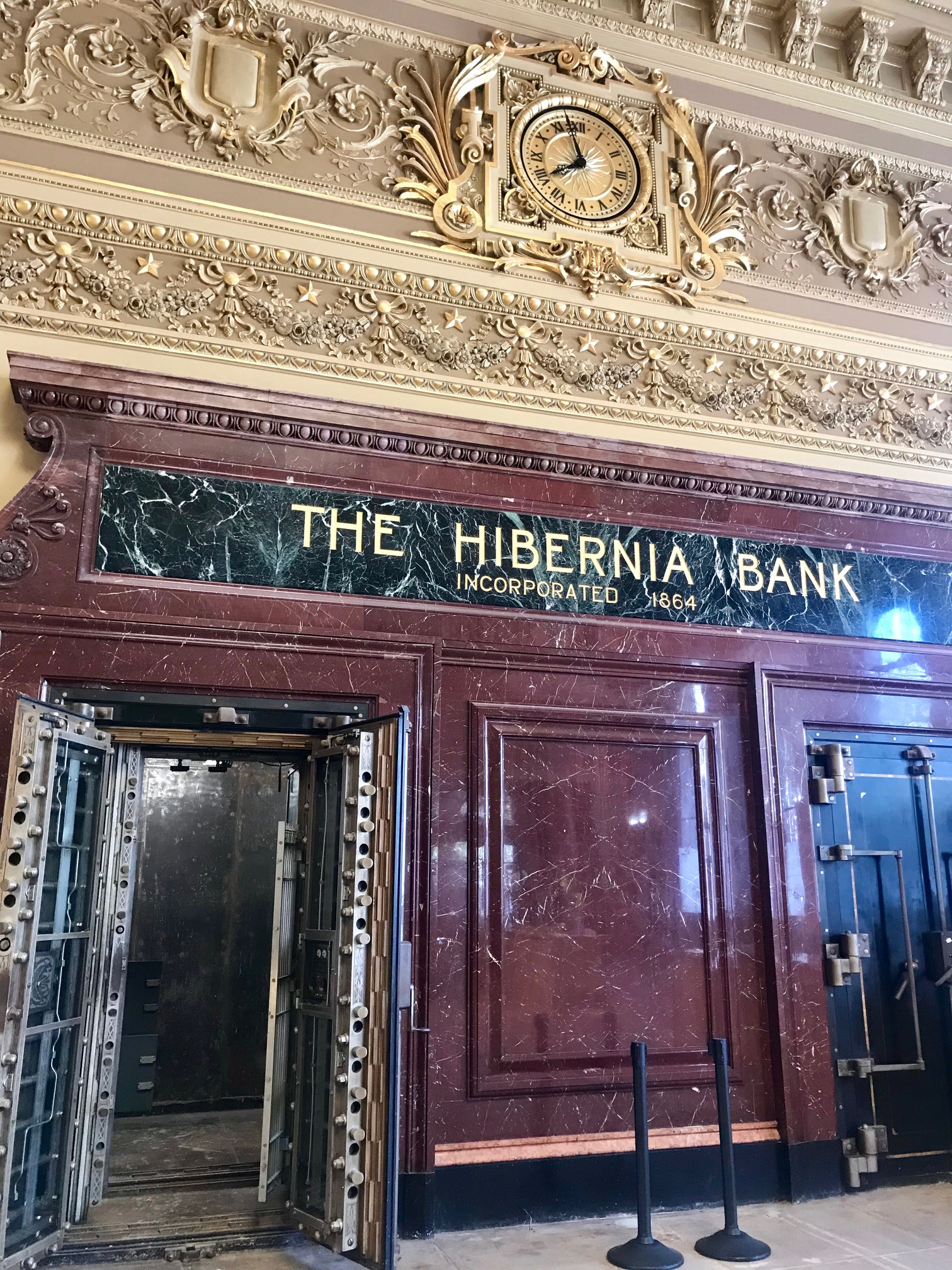 Historic bank vault
