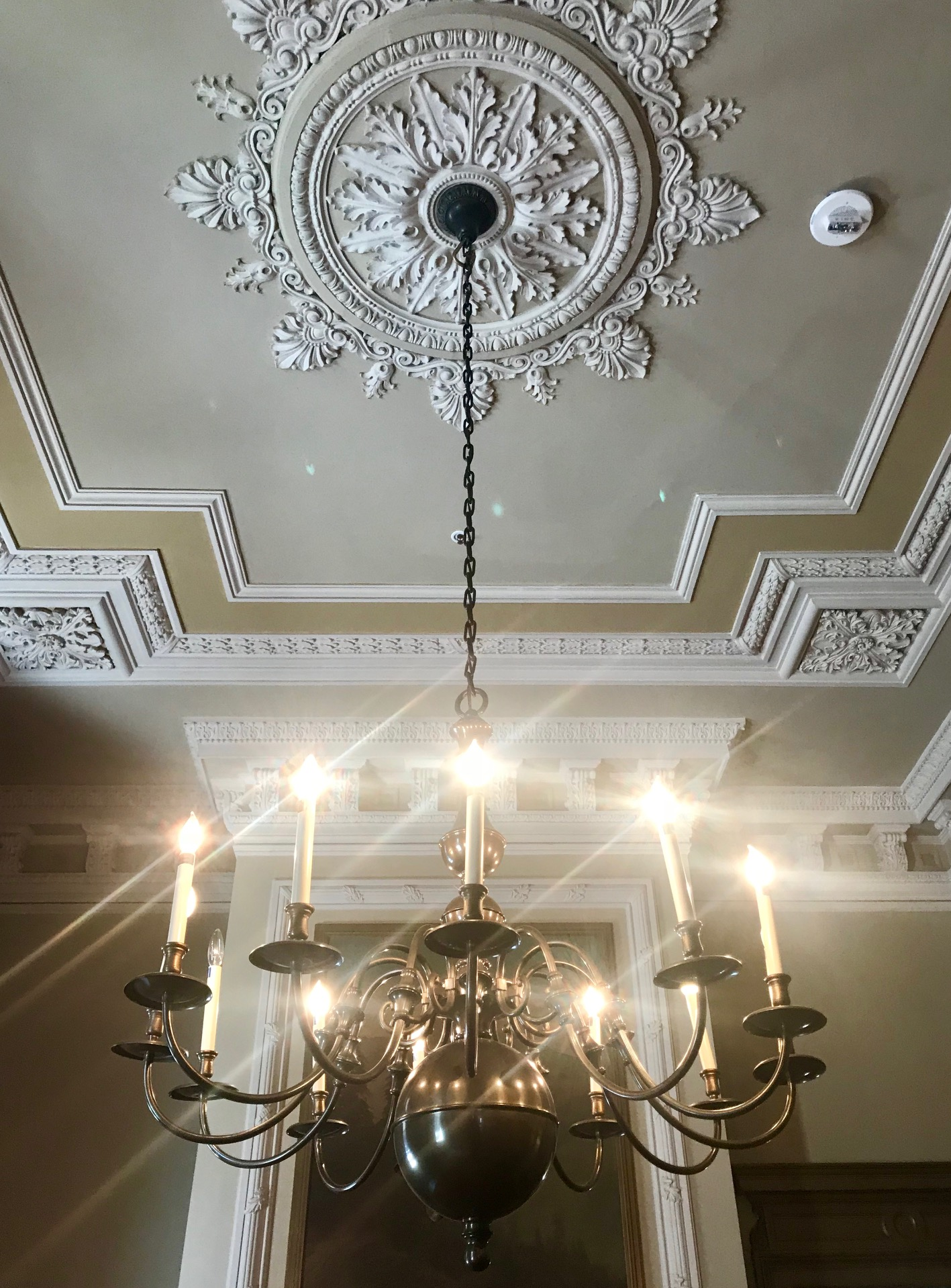 Neoclassical Revival-style touches