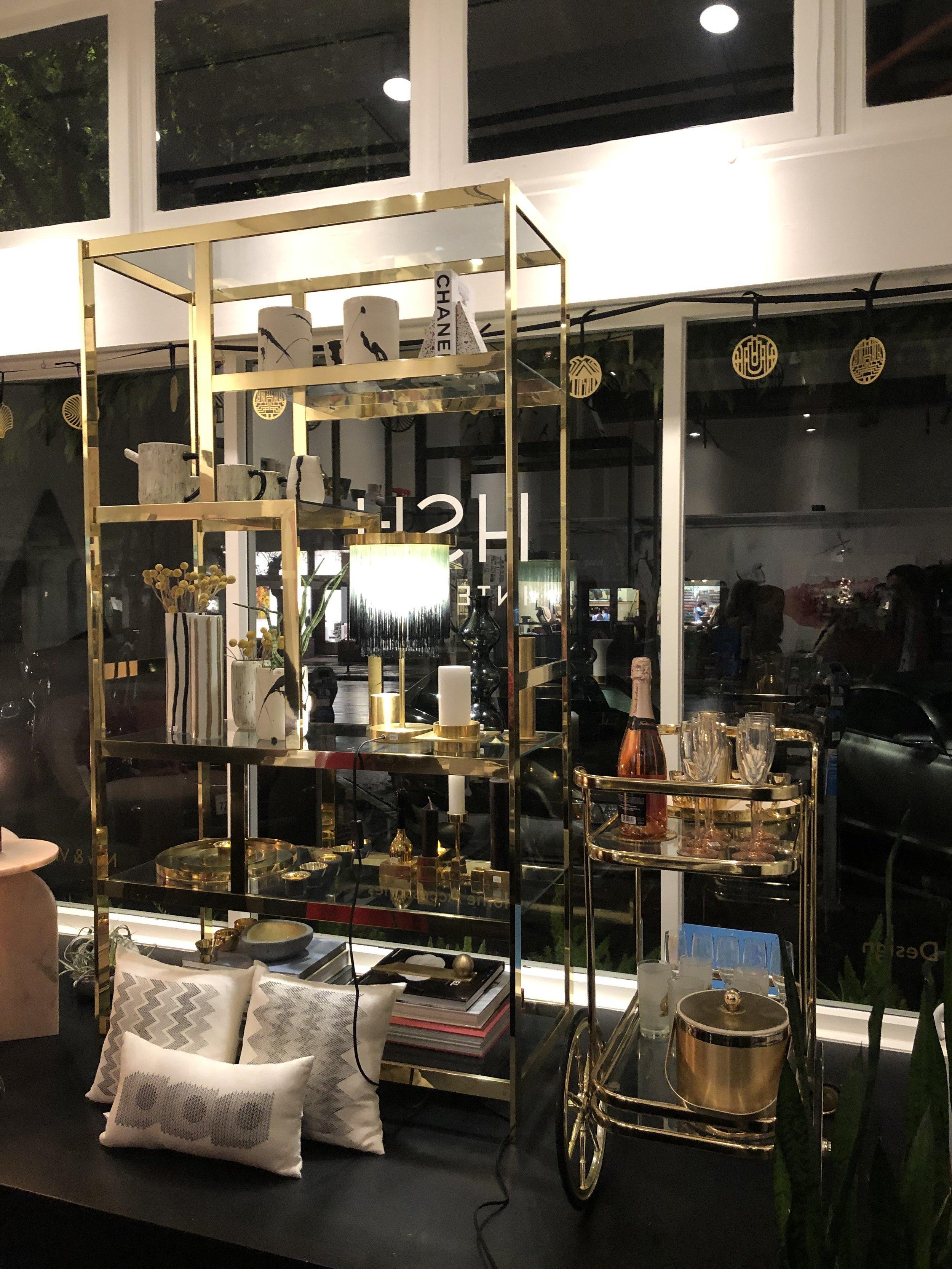 HSH Interiors' storefront
