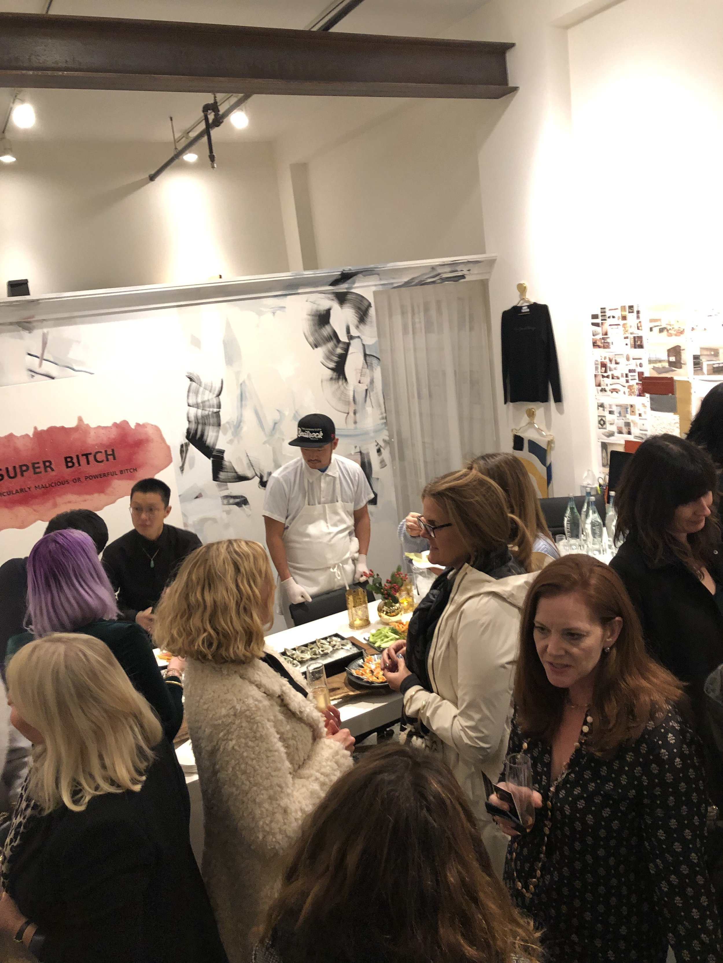 A scene from the HSH Interiors holiday party