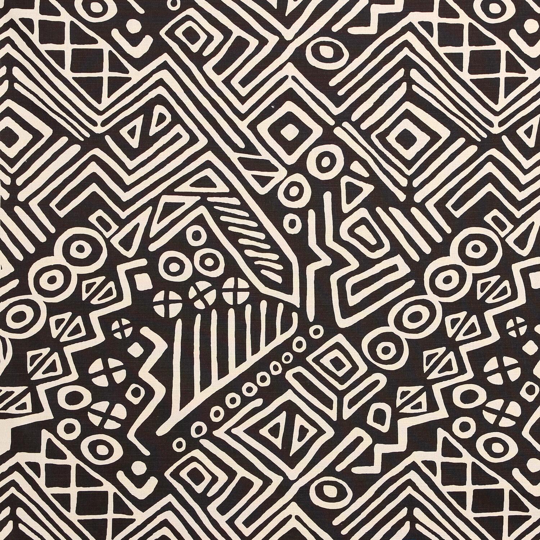 "Sister Parish Design ""Campbell"" Fabric, color Brown"