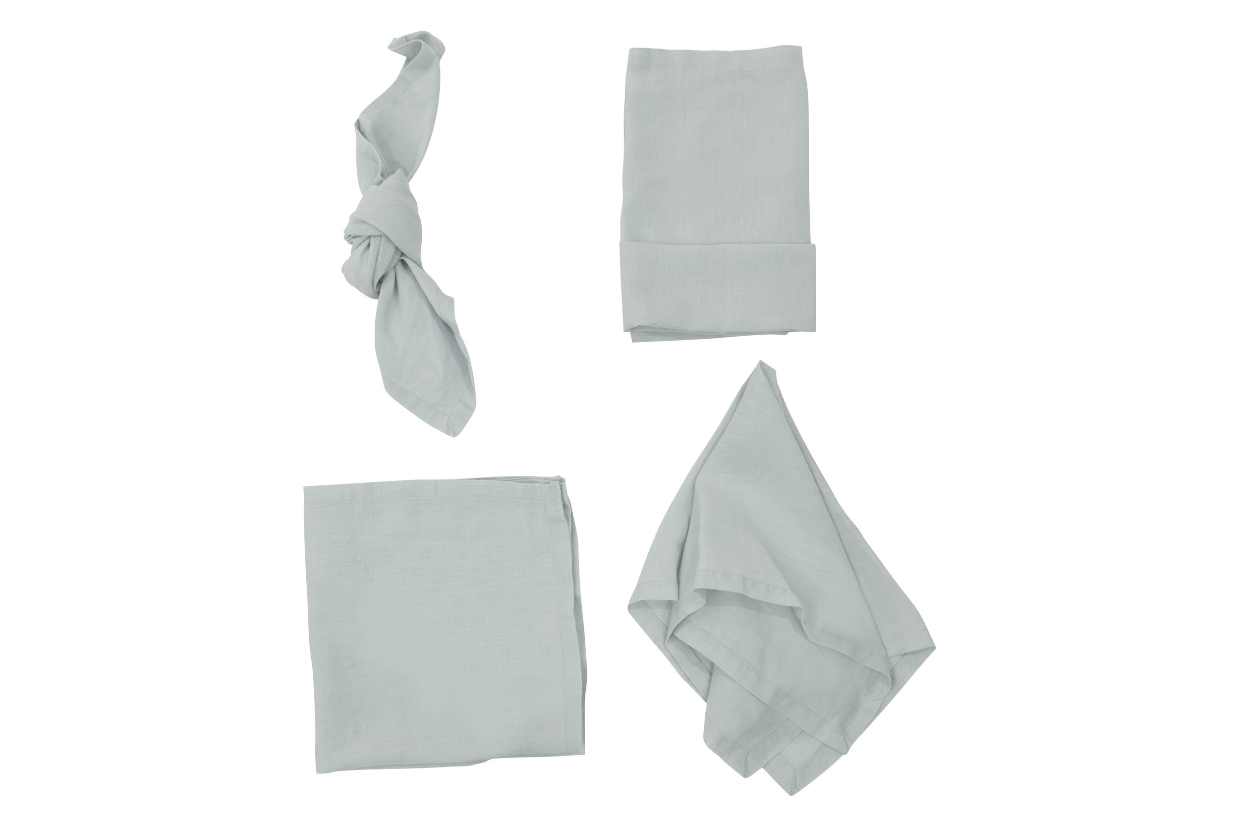 Duck Egg Napkin, $2.70 inc GST & Cleaning, enquire  here