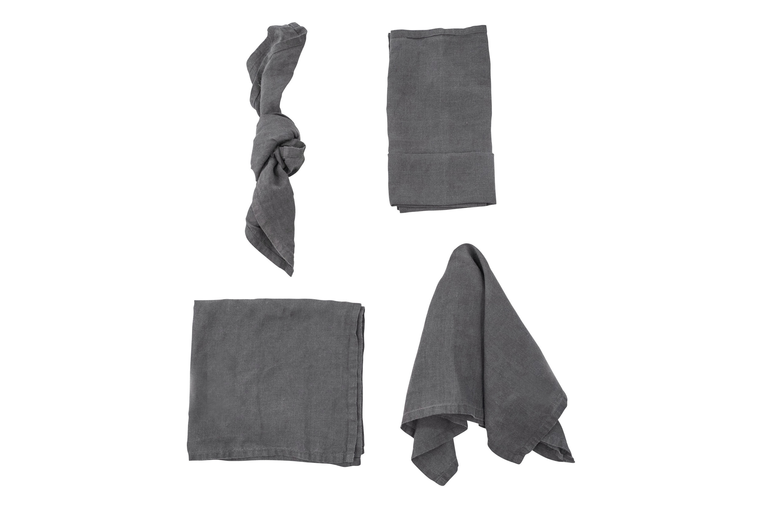 Slate Grey Napkin, $2.70 inc GST & Cleaning, enquire  here
