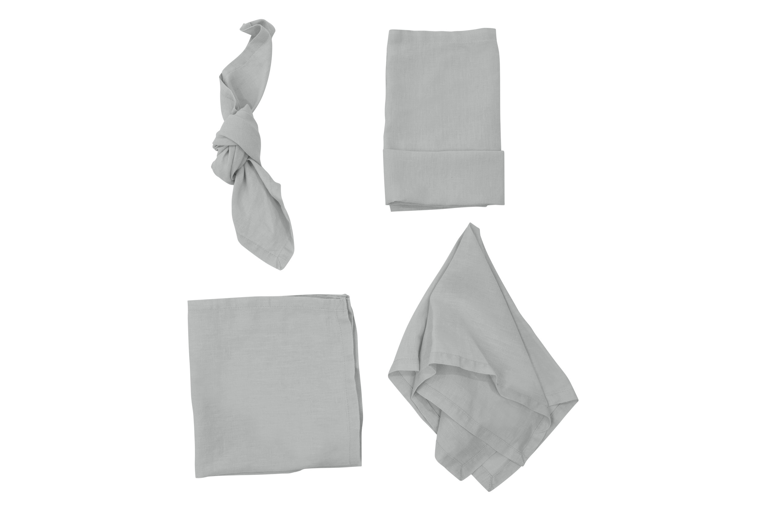 Stone Grey Napkin, $2.70 inc GST & Cleaning, enquire  here