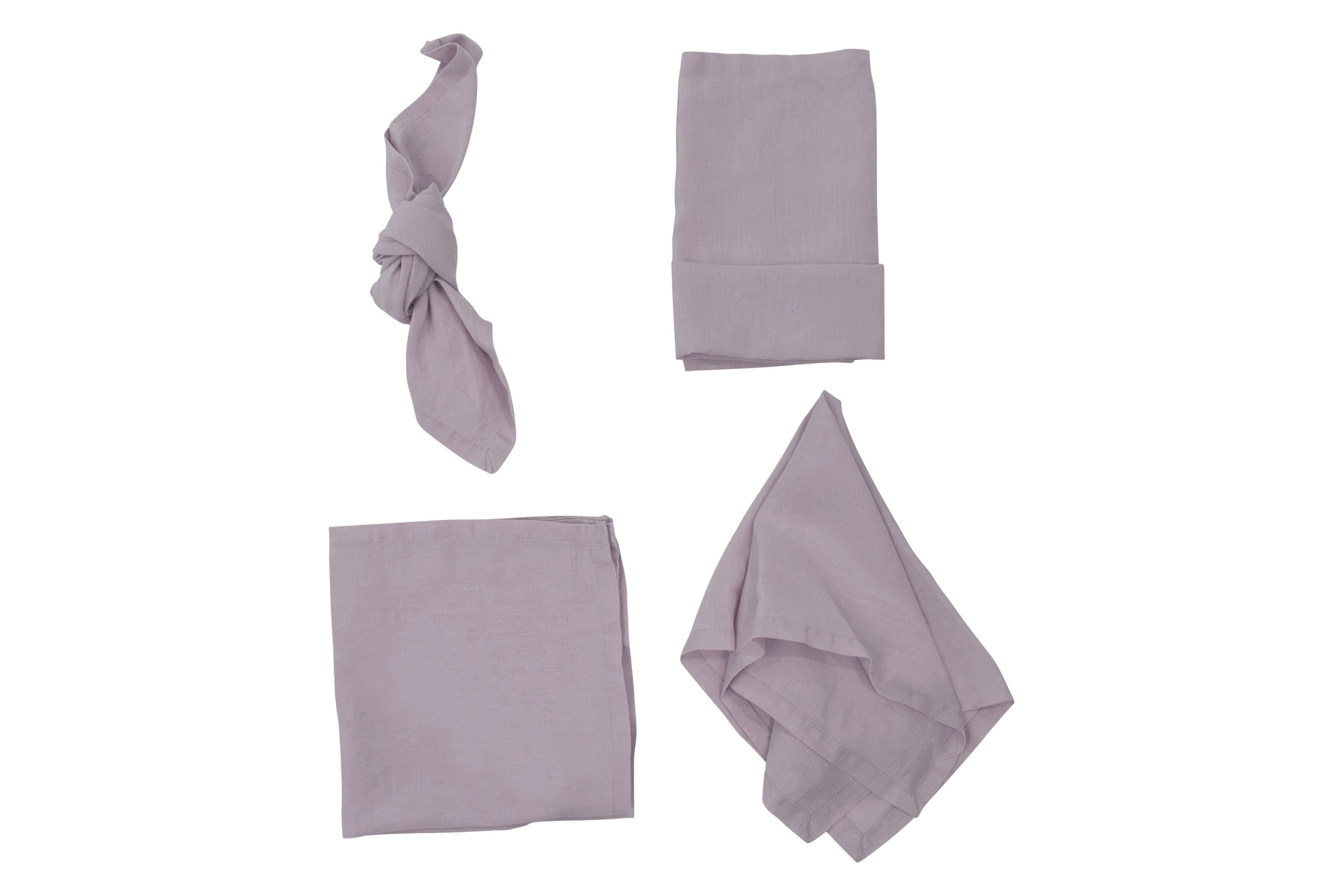 Dirty Lilac Napkin, $2.70 inc GST & Cleaning, enquire  here