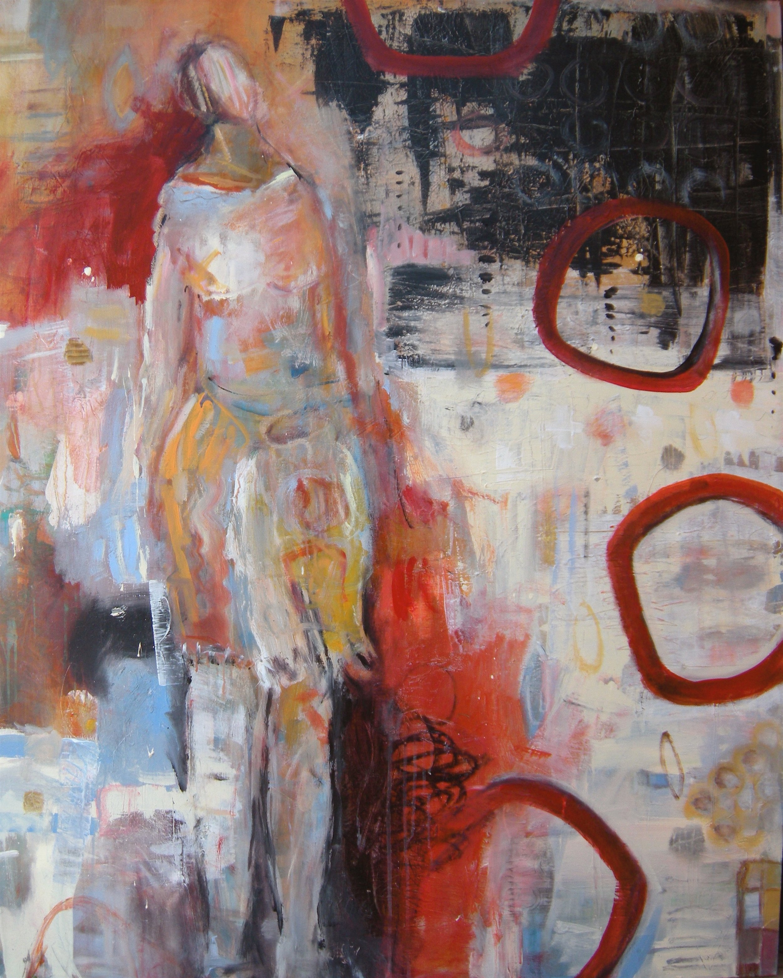 """falling for you  48"""" x 60"""""""
