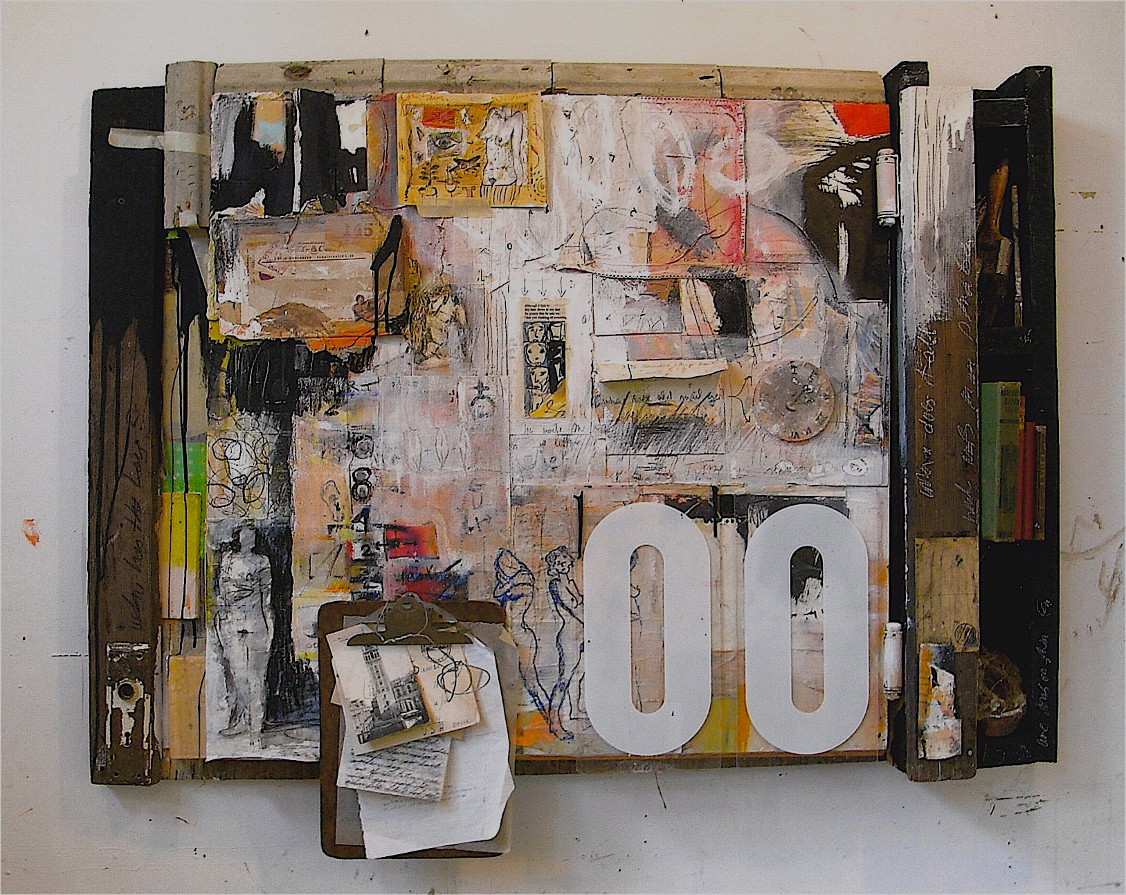 """collage 36"""" x 46"""" 3D $3600"""