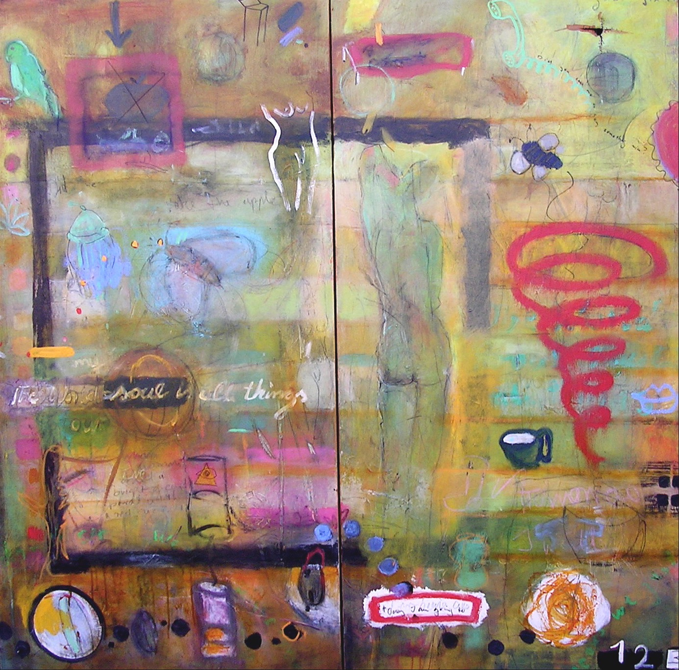 """48"""" x 48"""" SOLD"""