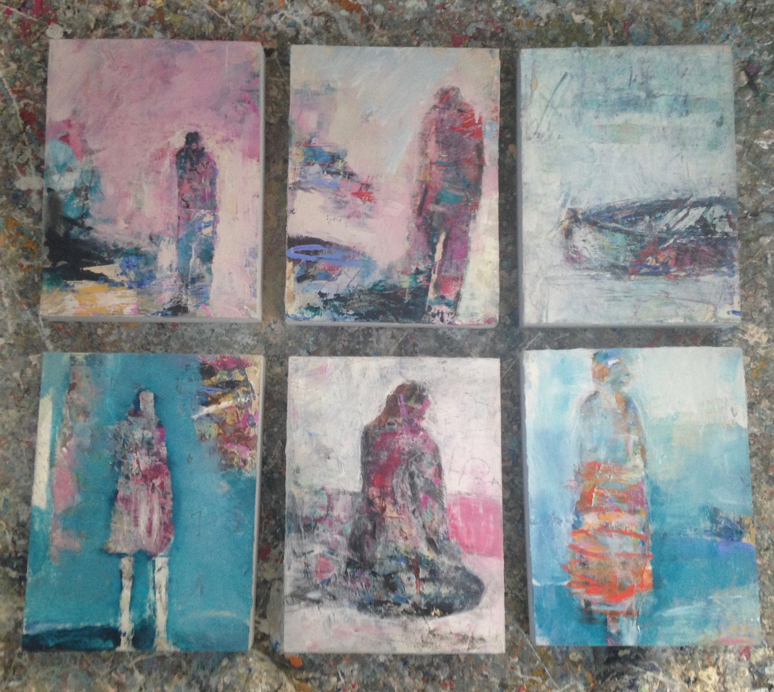 """small works approx. 10"""" x 12"""""""