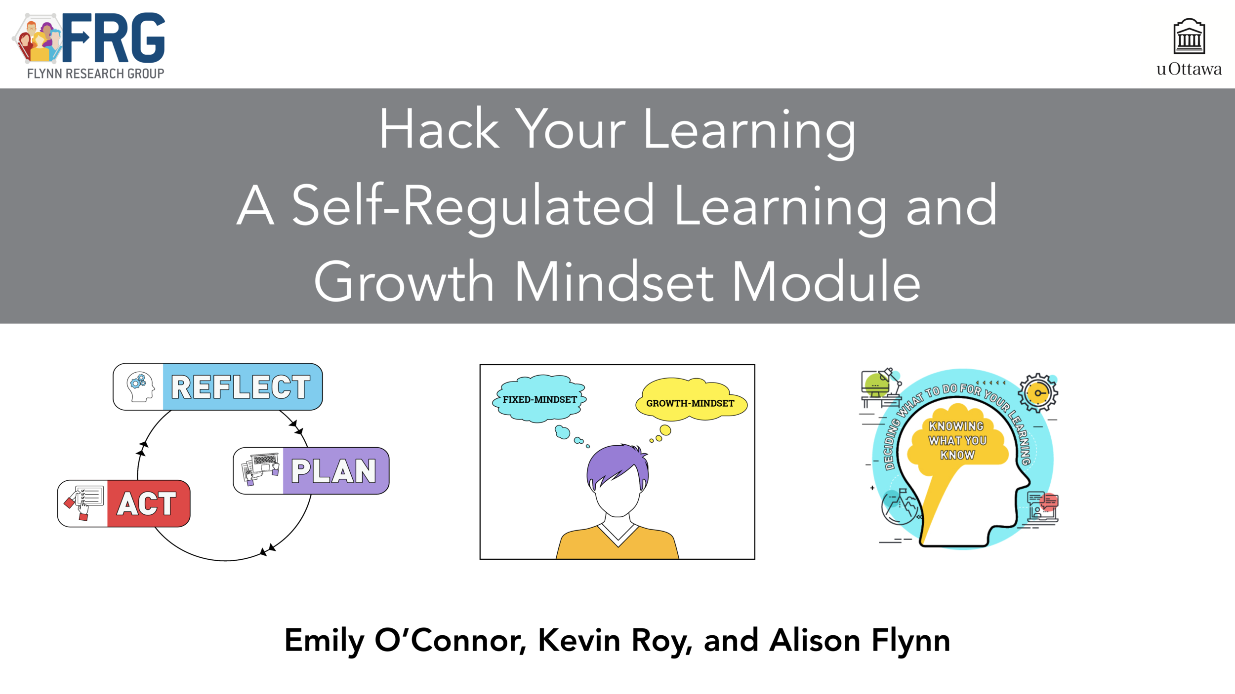 An SRL and Growth Mindset Module