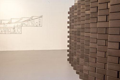Mungo Thomson,  Yoga Brick Wall