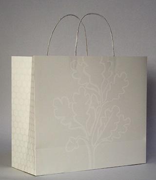 "Proximities 3, Imin Yeh, ""Paper Bag Project"" (2013), handmade paper bag"