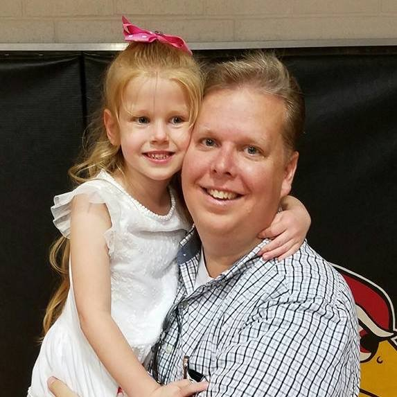 Mike is enjoying time with his beautiful daughter, Sophie.