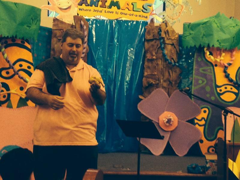 Performing at a VBS in Tulsa, Oklahoma