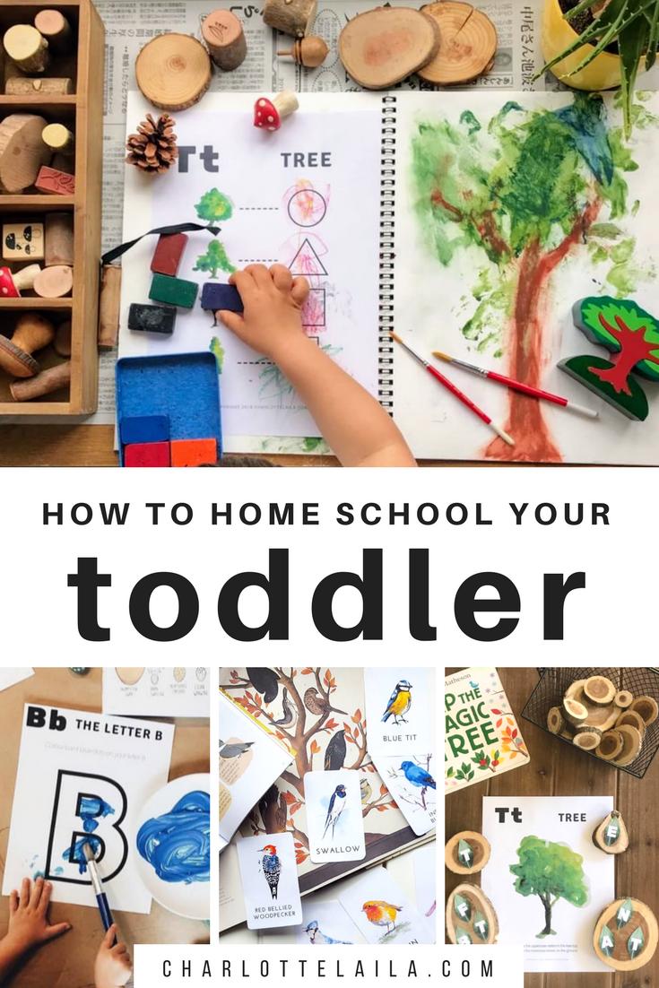 homeschool your toddler
