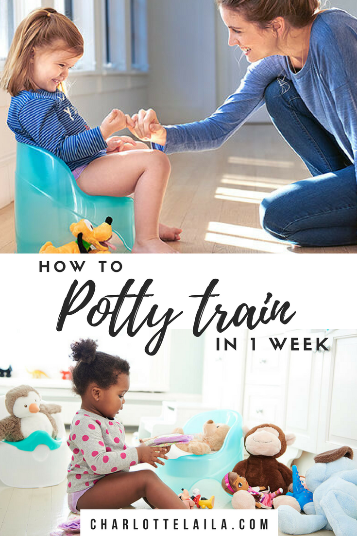 Potty Training a one year old
