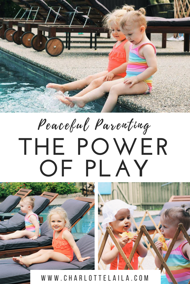 Today I'm writing about play. Do you play with your kids? Are you a playful parent?