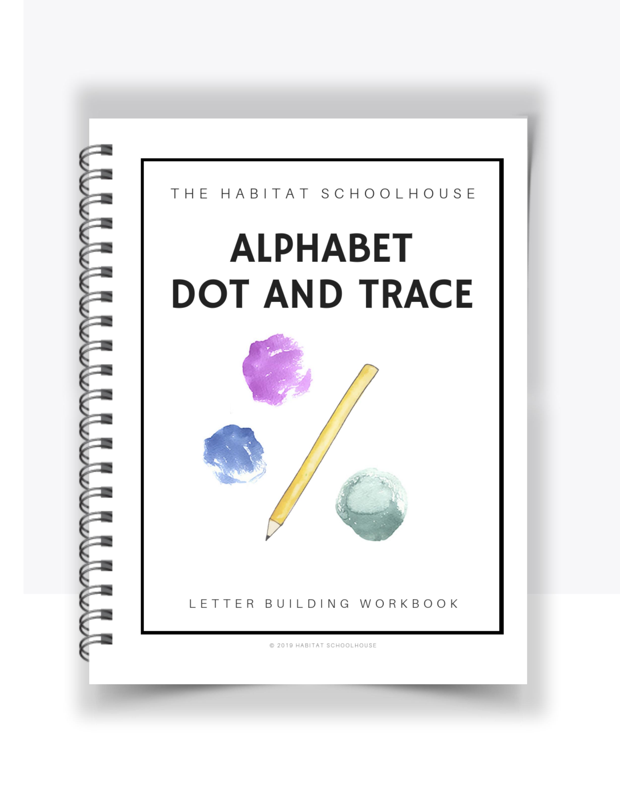 Alphabet Dot and Trace Workbook