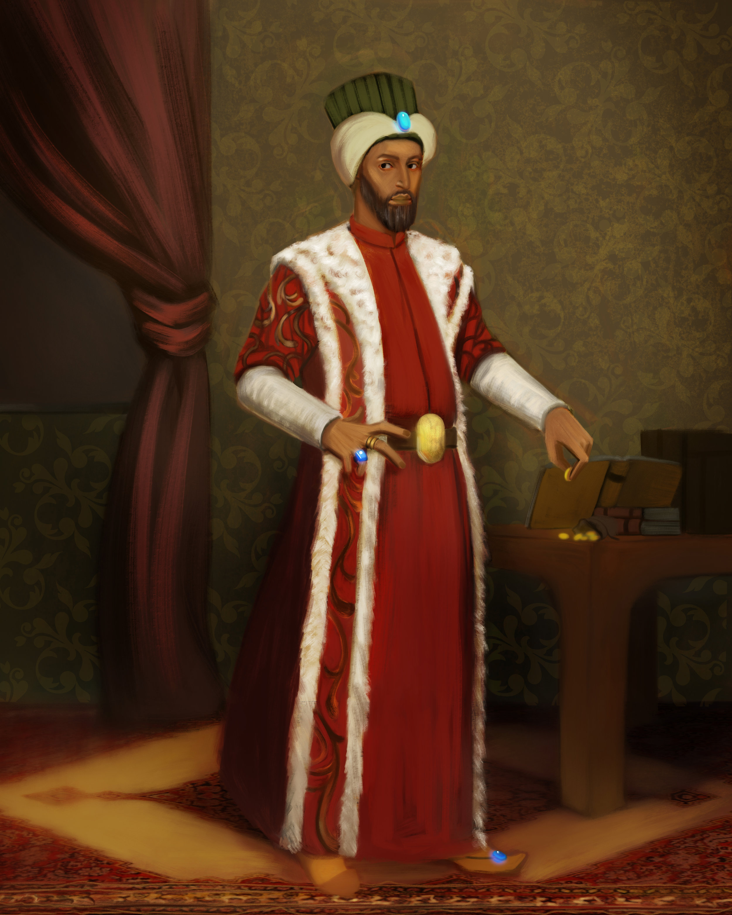 The Sultan has commanded Scheherazade to tell him a story every night, or else face the executioner -- only you can save her!