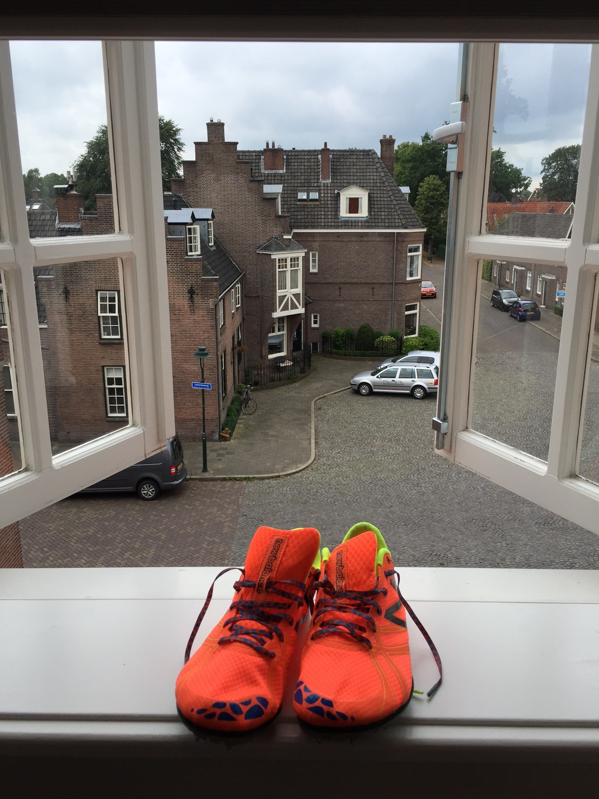 My spikes await the sprints in Berlin