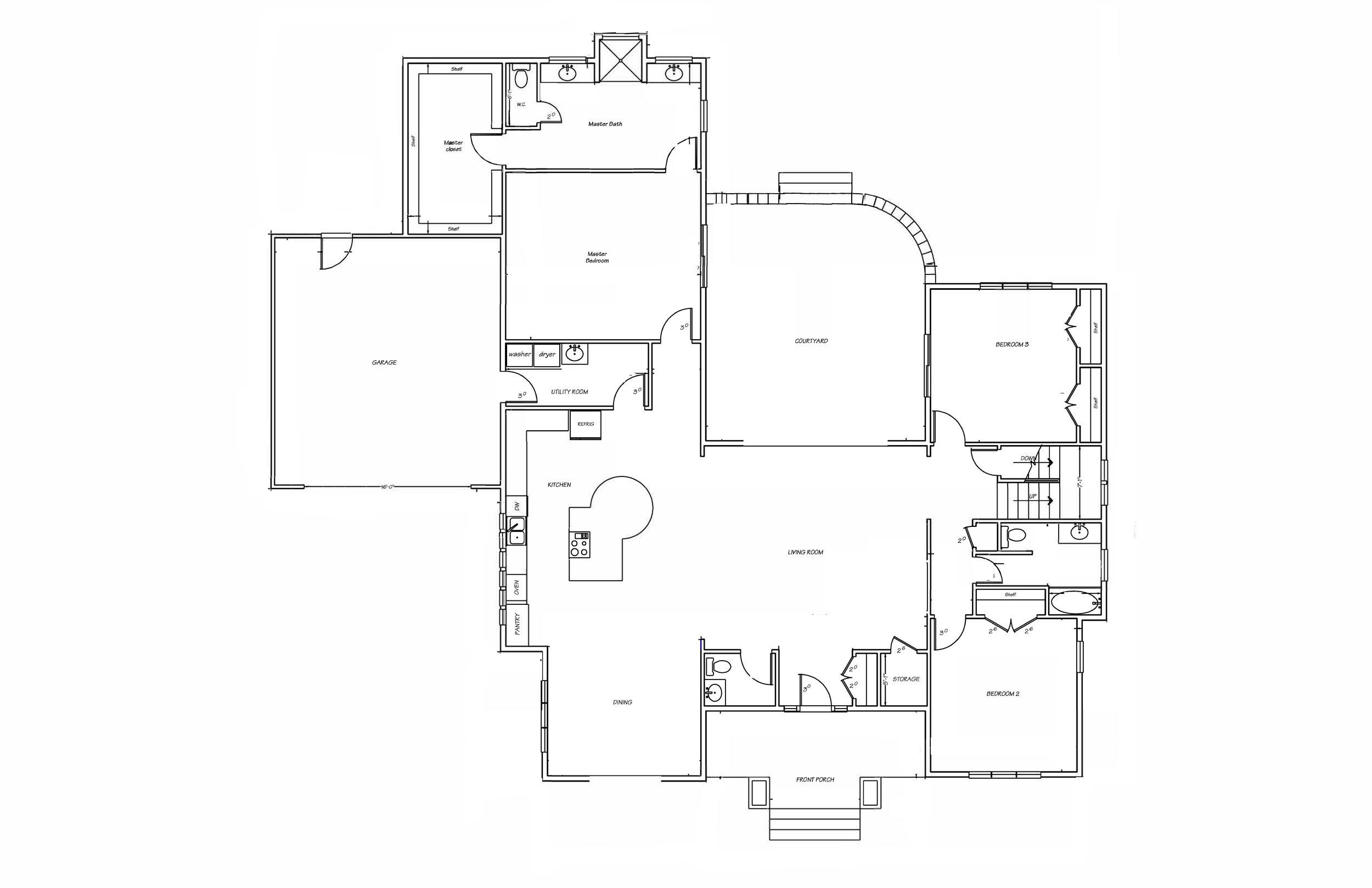 tweed floor plan (first floor only)