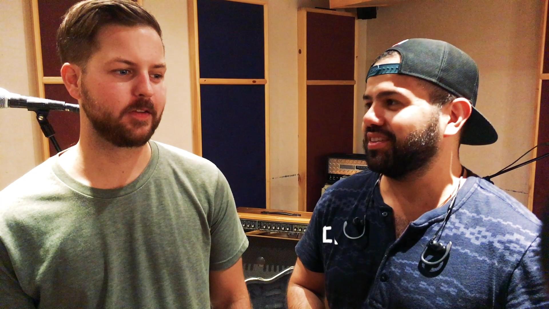 Jono Orri and Ed Cuervo of Skunkmello at Astoria Sound Works in Queens