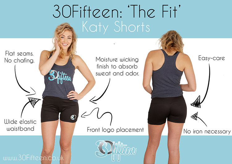 30Fifteen product spotlight katy short