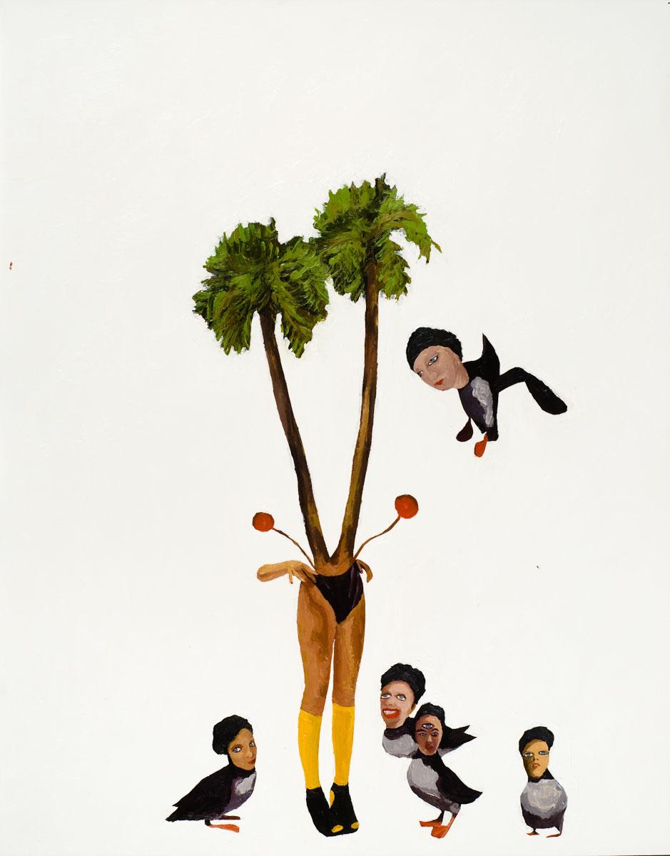 Palm Tree Girl