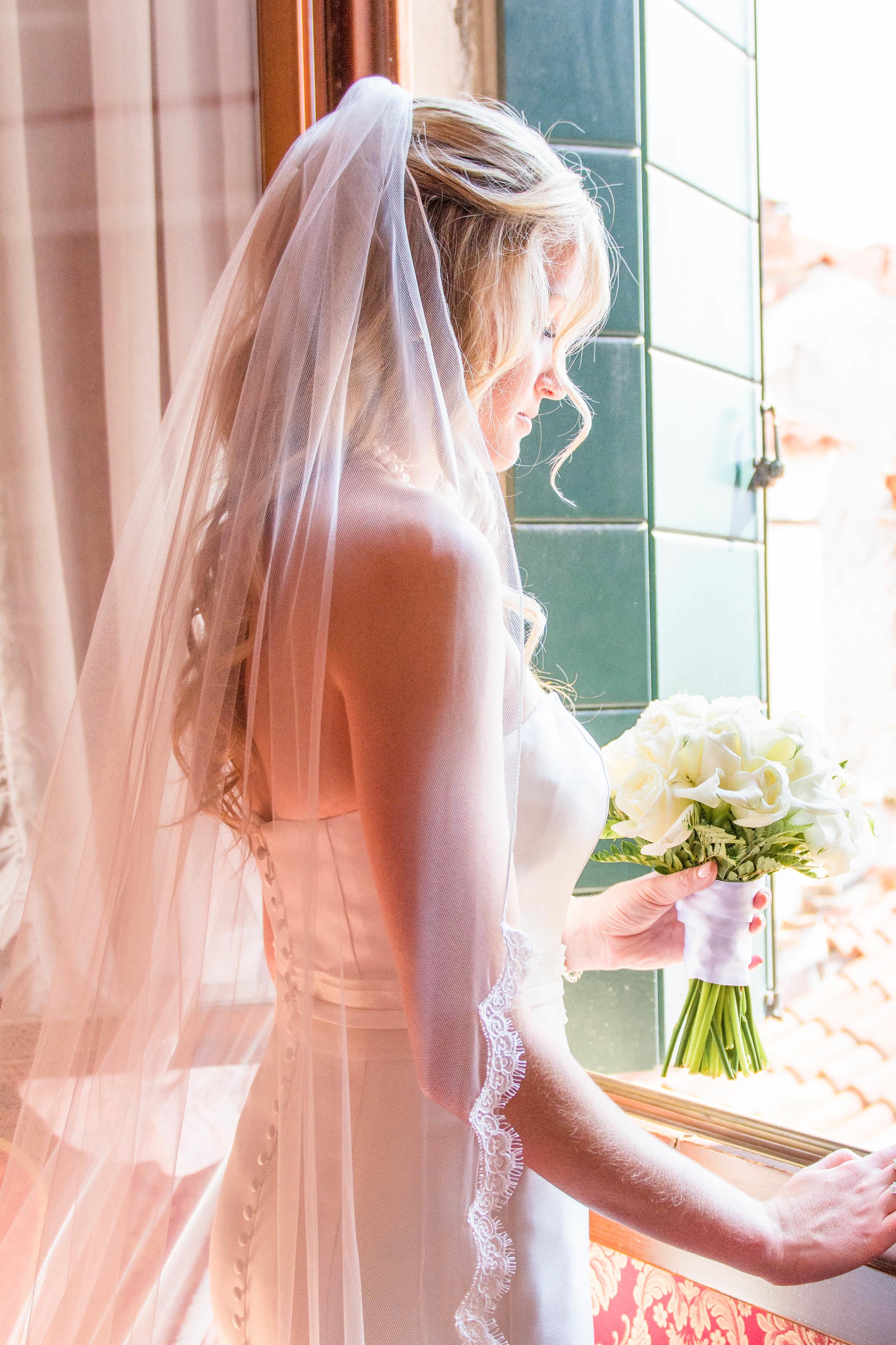 Venice Italy Wedding Bride