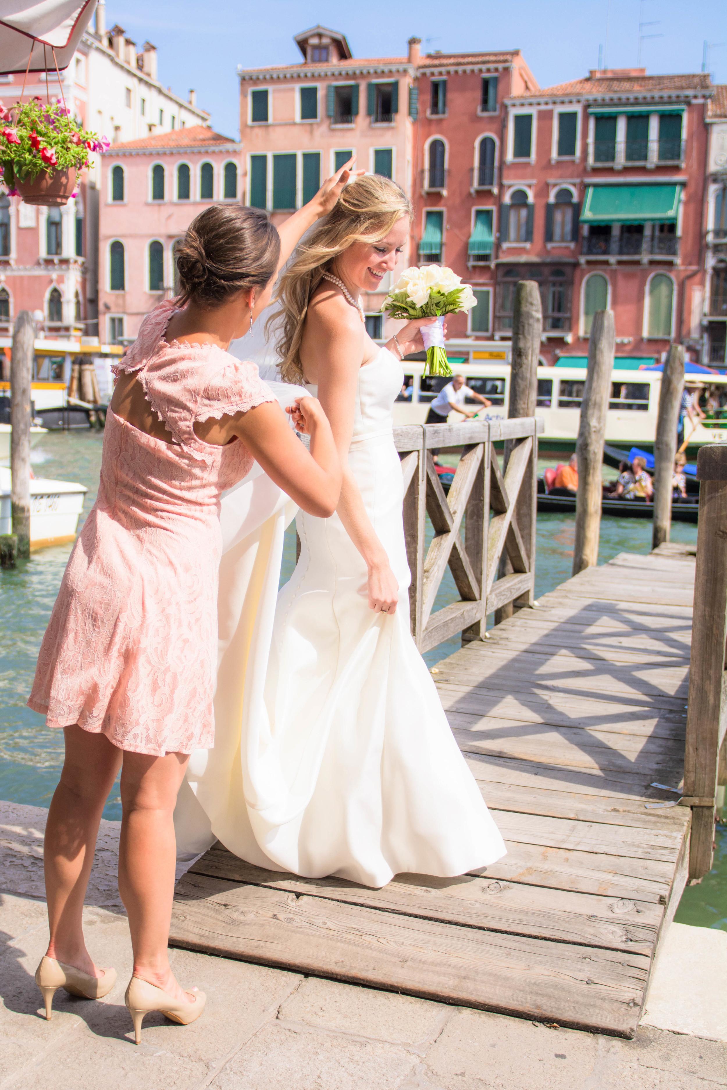 Venice Italy Wedding Canals