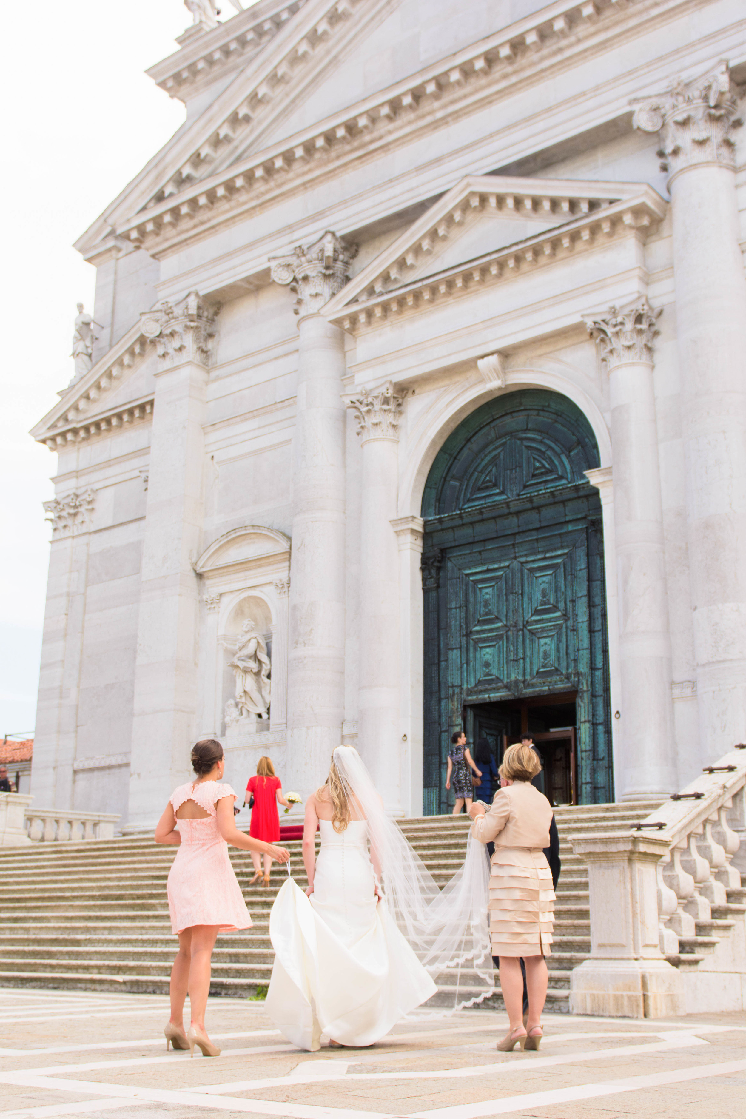 Venice Italy Wedding Redentore Cathedral