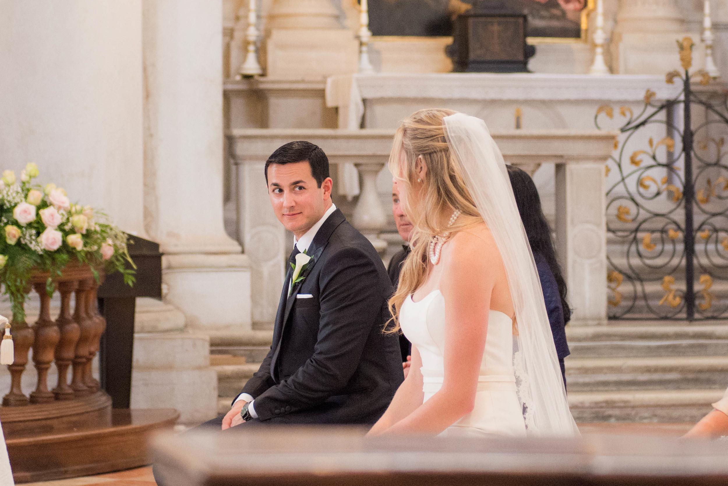Venice Italy Wedding Ceremony Redentore Cathedral