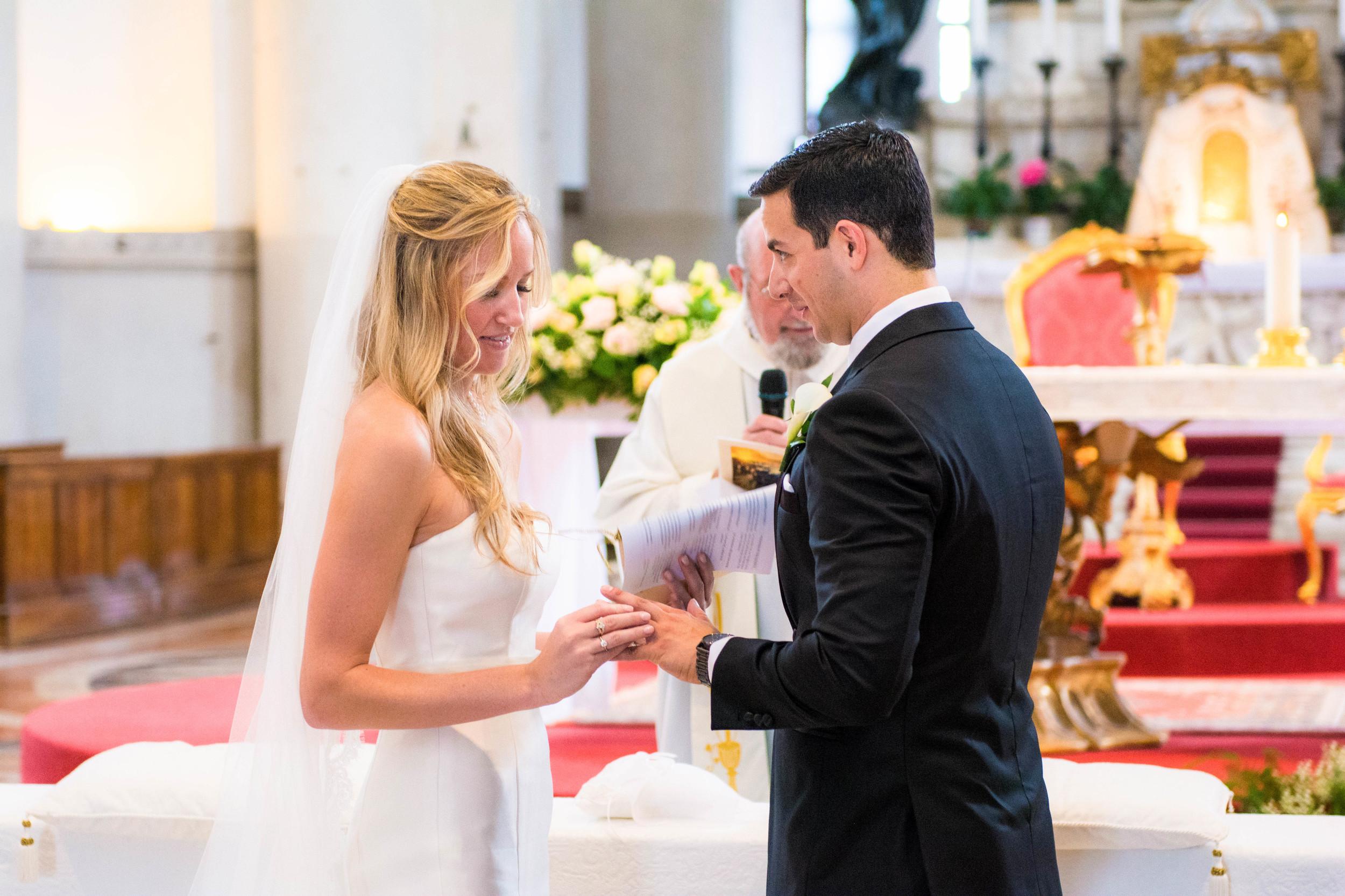 Venice Italy Redentore Chapel Wedding Ceremony