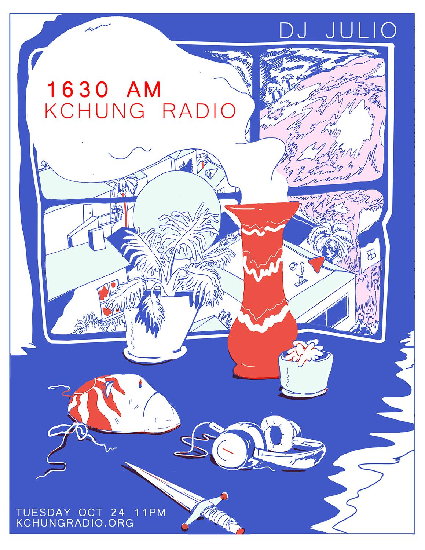 Dj Julio Set Poster: The Collection    KCHUNG Radio