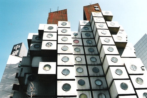 FIGURE 2: KISHO KUROKAWA'S CAPSULE TOWER