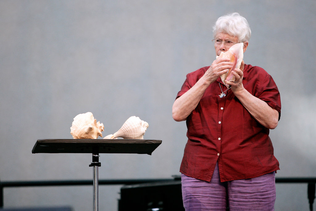 "Composer Pauline Oliveros, the genius behind ""Deep Listening"""