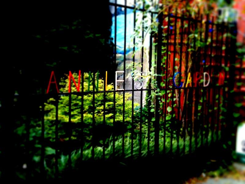 Annie's Garden - Rainbow Gate