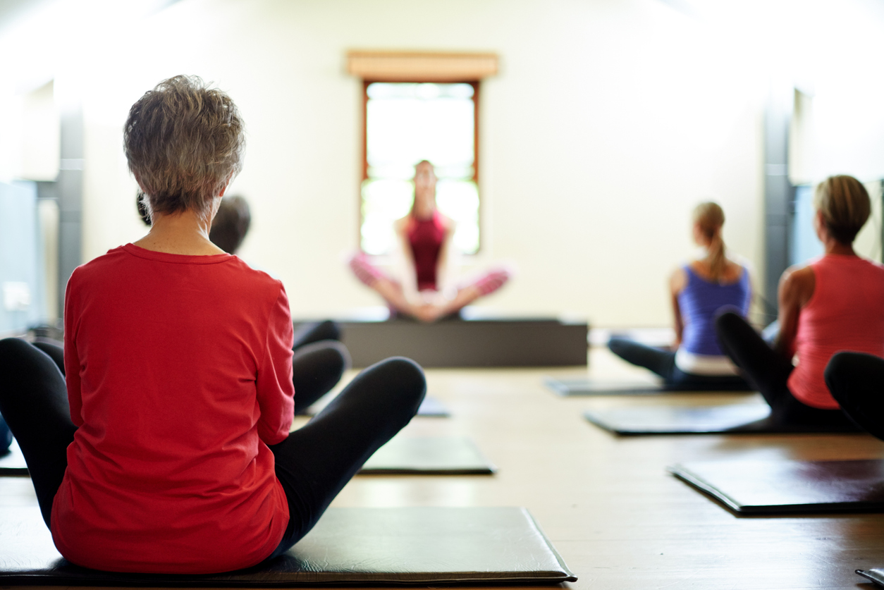 ©iStock.com/Mikolette     Therapeutic Yoga and Cancer Care       Univ. of MD, Center for Integrative Medicine -   Director of Yoga Programs and Yoga Therapy, Kelli Bethel discusses the benefits of therapeutic yoga for those currently in and beyond treatment. Many integrative centers as well as healthcare facilities are beginning to offer this type of yoga practice, so it's worth seeking out.