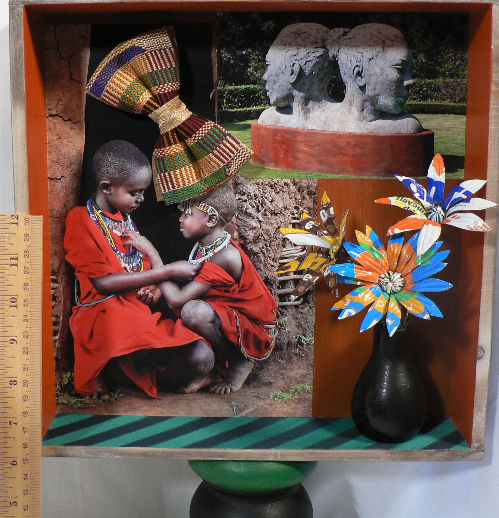 African Triptych with Ruler.JPG