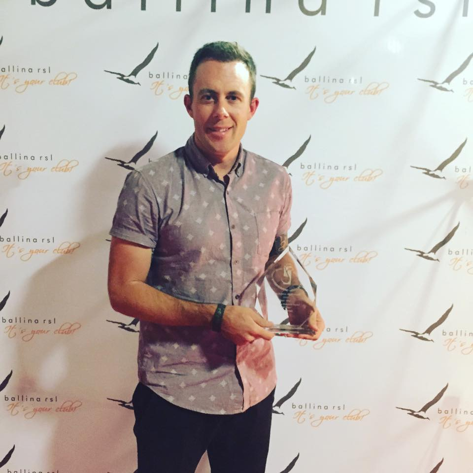 CASEY BARNES - 2015 DOLPHIN AWARDS - BEST MALE VOCAL