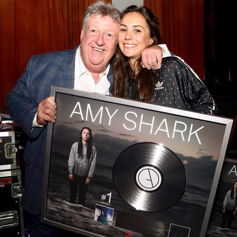 "#1 iTunes - AMY SHARK ""ADORE' - SONY"