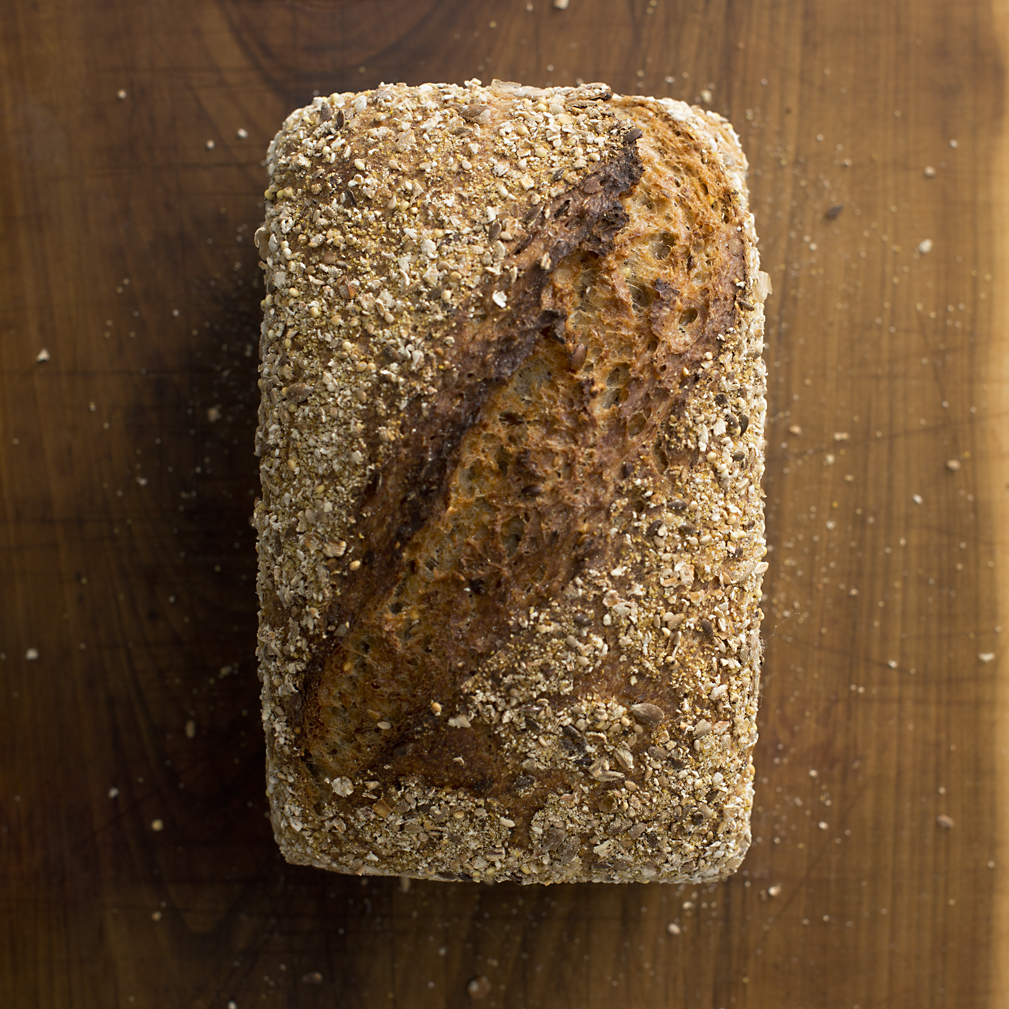 Seven Seed sourdough tin £3.40