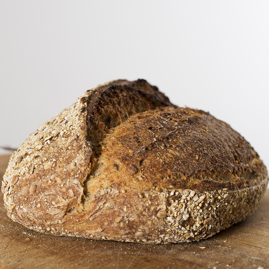 Seven Seed sourdough £2.10/£3.40
