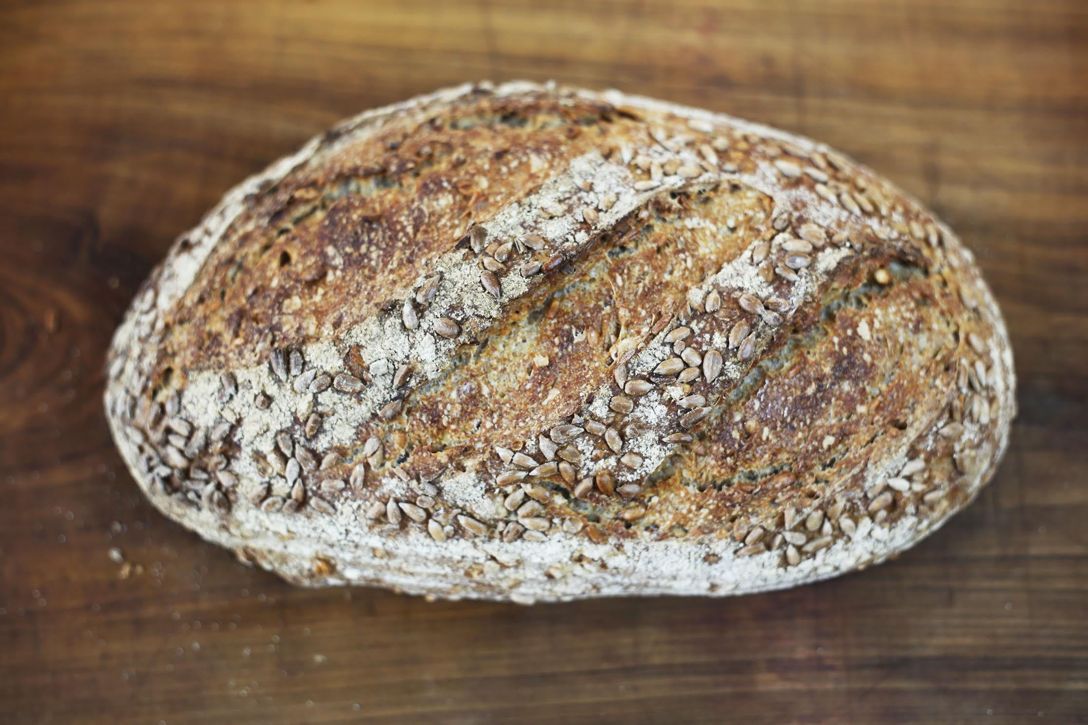 Sunflower Seed sourdough £2.40/£3.80