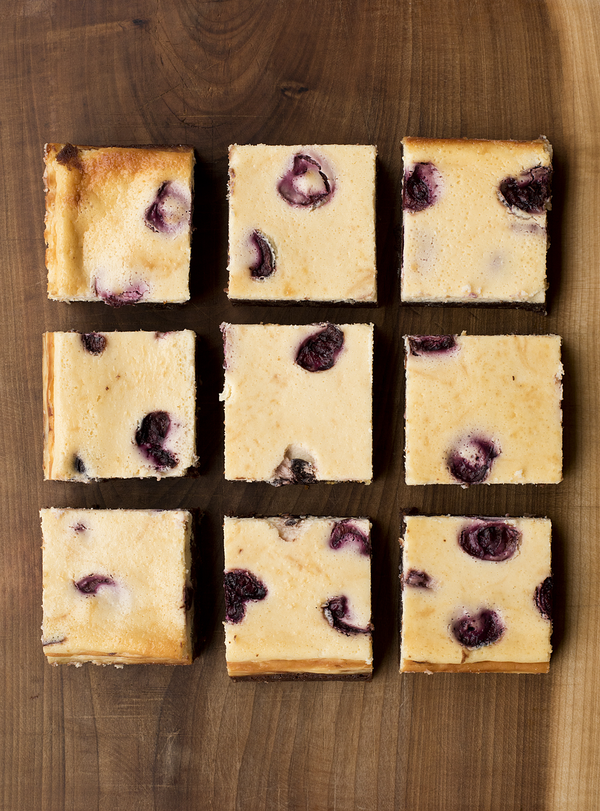 Blueberry Cheesecake Brownie