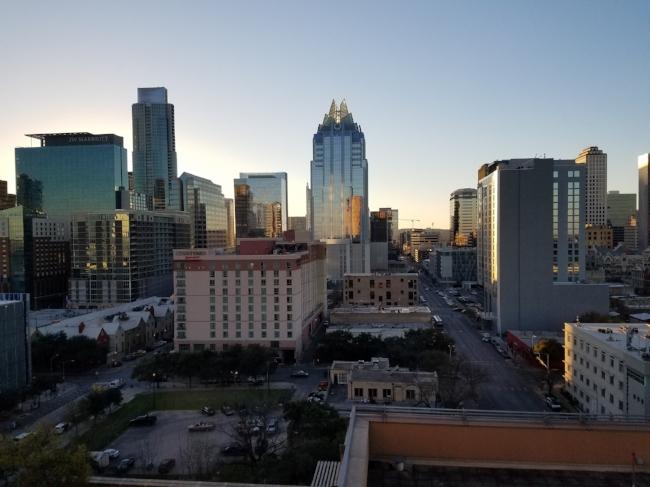 Austin at dusk