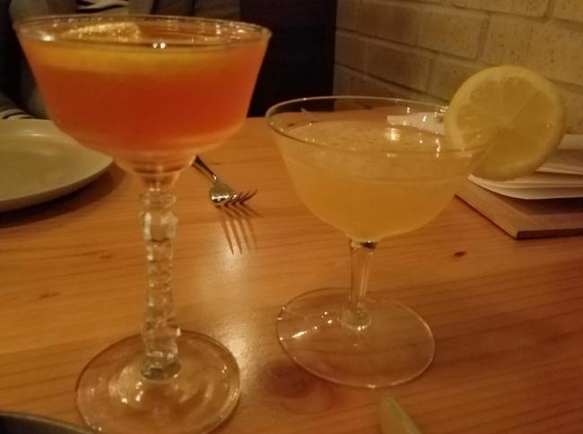 Left: El Cuñado (menu item)  Right: Vieux Martinique (special feature as of February 2017)